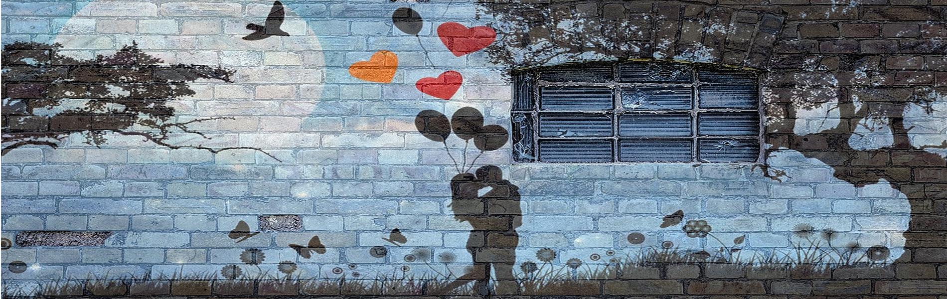 Balões de poemas